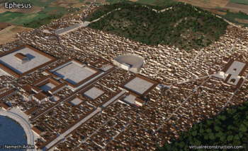 Ancient City of Ephesus - Reconstruction Video - Selcuk, Ephesus, Turkey